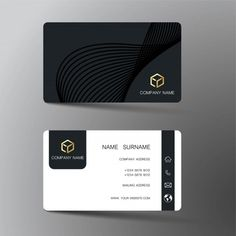 Classic set of golden vip cards Vector | Free Download
