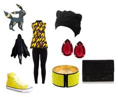 """""""umbreon"""" by destiny-demon on Polyvore featuring Converse, Emilio Pucci, Marni and T Tahari"""