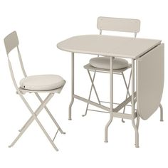 6 Outdoor Bistro Set Ikea | Balloondir Outdoor Table Tops, Ikea Outdoor, Outdoor Folding Chairs, Indoor Outdoor Furniture, Ikea Patio Furniture, Iron Furniture, Bistro Patio Set, Chairs For Small Spaces, Acacia