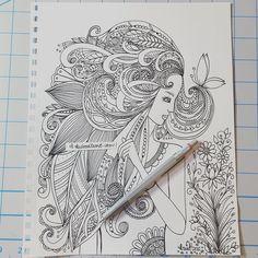 #kcdoodleart #lineart #visualart #art #artist #artwork #artistic #artjournal #artjournaling #journal #journaling #draw #drawing #doodle #doodling #doodles #doodleart #inktober #inktober2015 #zen #zenartist #zendoodle #zentangle #zendoodles #zentangleinspired #creative by kcdoodleart