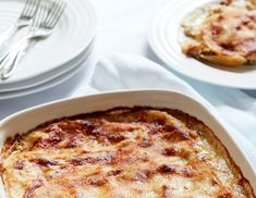 Sophie's Chicken and Mushroom Lasagne – Portmeirion Lasagne Dish, Stuffed Mushrooms, Stuffed Peppers, Fresh Thyme, How To Cook Chicken, Carrots, Fries, Oven
