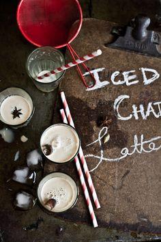 Journey Kitchen: Iced Hazelnut Masala Chai Latte and a Giveaway