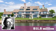 The onetime Connecticut estate of actress Katharine Hepburn is back on the market for $11.8 million.
