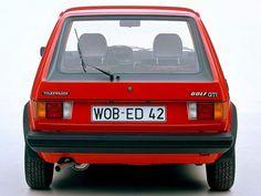 Volkswagen Golf GTI 3-door (1976 – 1981). mk1
