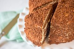 Milo Cake with Condensed Milk Icing - The Sweet Rebellion - Chia Lee - African Food Kos, Milo Cake, Baking Recipes, Cake Recipes, Baking Tips, Sweet Recipes, Ma Baker, Condensed Milk Cake, Big Cakes