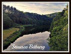 One of the most beatiful lake areas in the South Eifel.  #Stausee #Bitburg #Eifel #Germany #Travel
