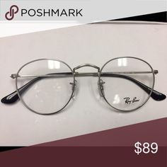 0723e9d242960 Shop Women s Ray-Ban Silver size OS Glasses at a discounted price at  Poshmark. Description  Authentic brand new RB round frame.