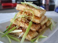 .Honey Sesame Tofu