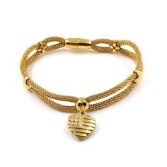 Find More Bangles Information about 2017 New Stainless Steel Golden Bracelets with Crown Heart Pendant Women's Bracelets Bangles,High Quality bracelet gothic,China bracelet peace and love Suppliers, Cheap bracelet leather from MSX Fashion Jewelry on Aliexpress.com