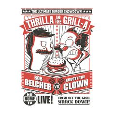 Check out this awesome 'Thrilla+In+The+Grill-A' design on TeePublic! http://tee.pub/lic/grY9WatmL00