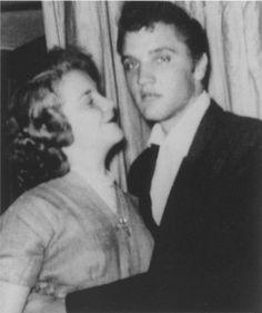 Elvis with a fan in Roanoke, Virginia, September 15, 1955.