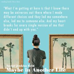 Book Review - Maybe in Another Life By Taylor Jenkins Reid   http://readingbookslikeaboss.com/book-review-maybe-in-another-life-by-taylor-jenkins-reid/