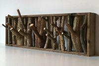 Very cool branch coat rack