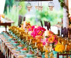 Don't Be Afraid of Bright Wedding Colors