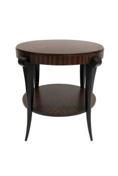 Lanna Home                                  (Download Catalog PDF)                                  EMPIRE END TABLE (LA7135)New Intro: Fall 2010                                  Parawood solids and Mozambique veneerOpen shelf