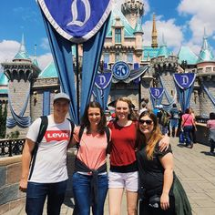 I absolutely loved spending time with these three in Disneyland on Monday. There is something about experiencing Disneyland with people who haven't been before that brings it back to life again... #disneyland #bssm2 by lizzbizz93