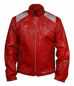 BNWT Michael Jackson BAD Genuine Leather or Faux Leather jacket in Black