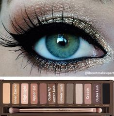 DIY makeup tutorial using Urban Decay Naked 2 pallet.