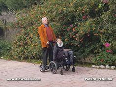 Electric Personal Assistive Mobility Devices ayudas tecnicas motor acompañante silla de ruedas manual para personas mayores