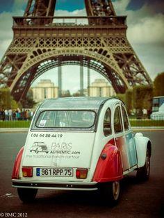 car tour of Paris anyone?