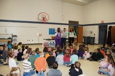 Author Kevin White Visits Roscommon Elementary School
