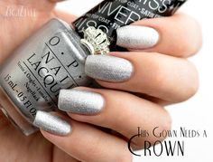 ZigiZtyle: OPI Miss Universe 2013 - This Gown Needs A Crown