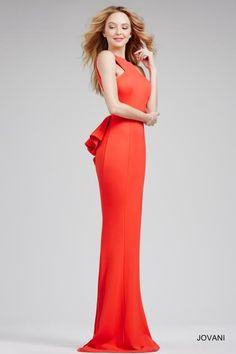 Elegant Fitted Jovani Dress 21899