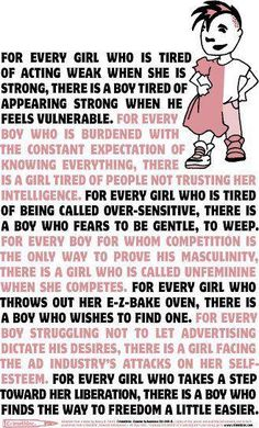 Gender roles are over rated and outdated!!