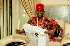 BellaNaija Groom Chigozie Yomi Black Photography  Fabrics by Tisbee Aso Oke Make up by BM Pro  Nigerian Wedding Makeup igbo wedding igba nkwu wine carrying coral beads naija bride red cap