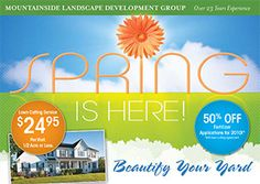 3 keys for a successful landscaping direct mail campaign