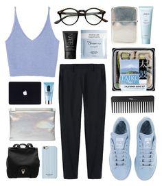 smacker by jesicacecillia on Polyvore featuring moda, Zara, Thakoon, adidas, Maison Margiela, Proenza Schouler, Isaac Mizrahi, NARS Cosmetics, Lirikos and Clinique