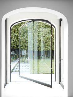 a clever revolving door... www.DesignbyKelsey.com