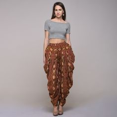 5515349cbbc Stylish cotton Ikat Patiyala pant will make you look fashionable. High on  style quotient and cool in comfort. Simply kitsch