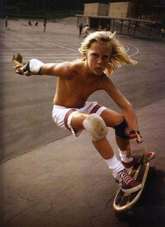 Le skateboard des années 70 documenté par le photographe Hugh Holland