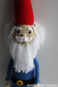 (4) Name: 'Crocheting : Gnome Pattern