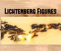 Lichtenberg Figures! Burning fractal images into wood!In this Instructable I will be showing you how you can burn some amazing fractal images into wood. This project is cheap and it might not even cost you anything! All you need is an old microwave. Let's get started.