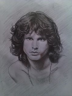 JIM MORRISON of the DOORS - Sketching by Mtrebz Temaarts Robert Cejes in Pencil Drawing at touchtalent 51082