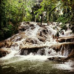 Ocho Rios Jamaica Dunn river falls DONE! July 2011 - honeymoon style :)