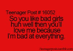 #teenagerposts #crush #love #bad #funny #girl