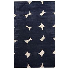 The mod motif circles and squares of this hand-tufted wool and art silk rug make it contemporary art for your floor. Sizes: 2ft W x 3ft L, 4ft W x 6ft L, 5ft W x 8ft L, 8ft W x 10ft L, 9ft W x 12ft L; Colors: Ballet Pink, Black, Maraschino, Navy, Platinum, and Upper Westside; 53% wool/47% viscose; Care Instructions: vacuum regularly; professional cleaning recommended.