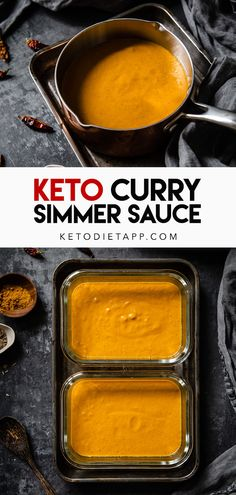 Easy Curry Sauce, Vegan Curry Sauce, Low Carb Curry, Keto Curry, Curry Recipes, Sauce Recipes, Dairy Free Keto Recipes, Healthy Recipes, Diet Recipes