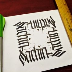 Calligraphy Sketch book