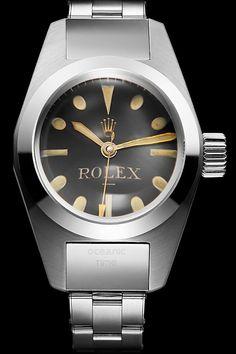 Cool Watches, Rolex Watches, Deep Sea, Vintage Watches, Accessories, Clocks, Bangle Bracelets, Antique Watches, Vintage Clocks