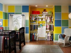 Kids' Closets: Clothing and Toy Storage for Boys and Girls | Home Remodeling - Ideas for Basements, Home Theaters & More | HGTV