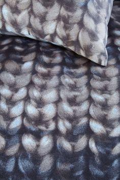Knitted patterns Beddinghouse Edmonton Duvet Cover