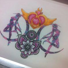 Sailor Moon Tattoos : alanaaaland: Please check out Timothy Von... | via Tumblr