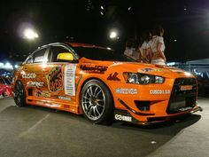 Team Orange Evo X