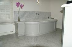 Lambrisering Op Badkamer : De ideeën van het ontwerp van de badkamer met lambrisering