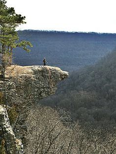 Whitaker point, ozark national forest, arkansas