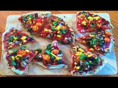 ▶ Weight loss Pizza! Raw Till 4 Gluten free, yeast free, oil free, low sodium, low fat - YouTube